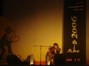 en el Aike 2006 - Coyhaique, Chile.