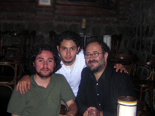En algún lunes Brassensiano junto a Chiclo y Eduardo Peralta